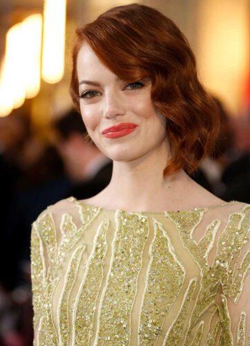 Emma Stone maquiagem Oscar 2015