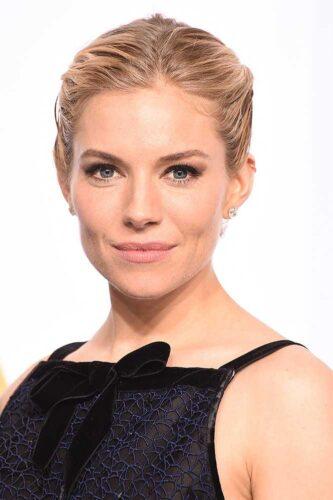 Sienna Miller maquiagem Oscar 2015