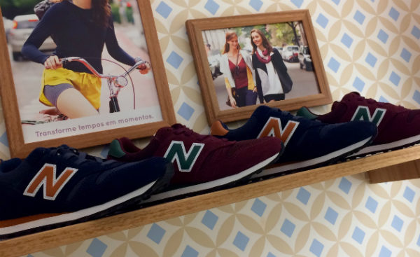 New Balance lança modelo by Hering for You