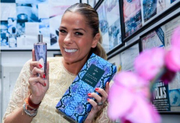 Adriane Galisteu lança seu novo perfume Exotic by Jequiti