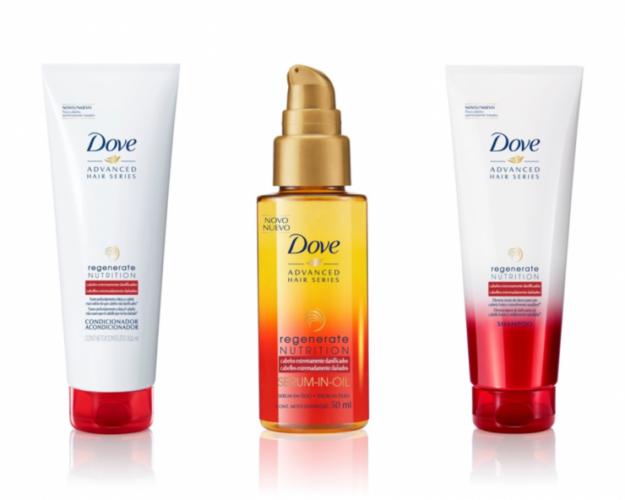 Dove lança linha Regenerate Nutrition