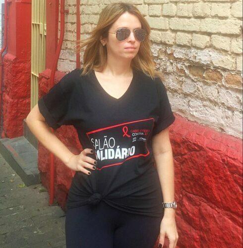 Salão Solidário L'Oréal - Luta contra Aids Carol Sisson
