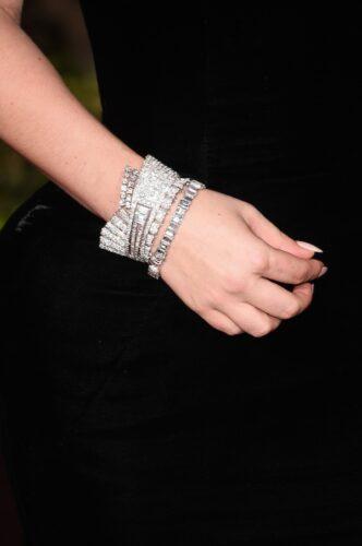Lady Gaga pulseira Globo de Ouro