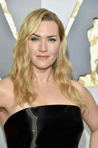 A maquiagem de Kate Winslet no Oscar 2016