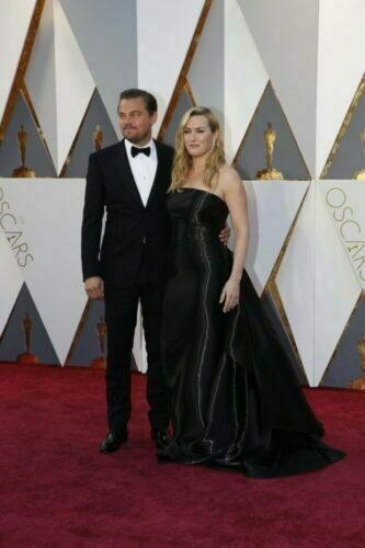 Oscar 2016: Os looks mais charmosos Leonardo DiCaprio e Kate Winslet