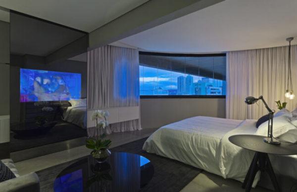 Tenha um quarto de hotel dentro de casa