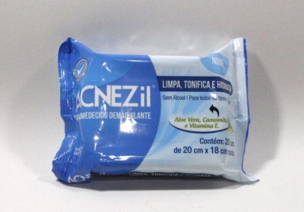 Resenha: Lenço umedecido demaquilante Acnezil