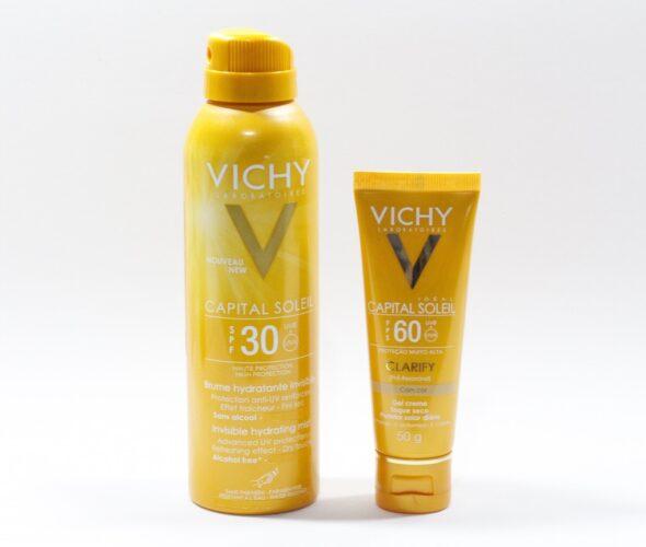 Resenha: Protetores solar gel creme e spray da Vichy