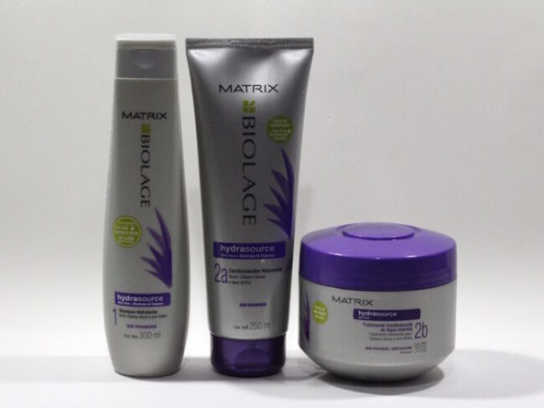 Resenha: Matrix Biolage HydraSource