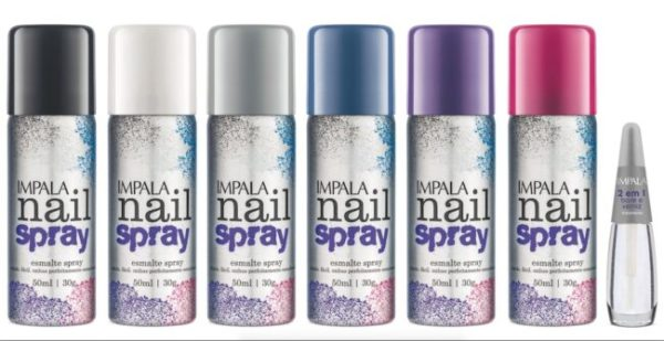 Impala apresenta a sua nova coleção de Esmaltes em Spray
