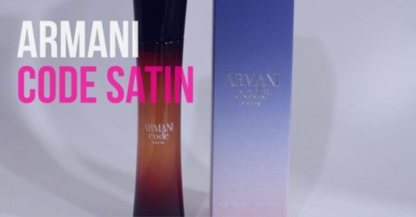 Resenha: Armani Code Satin