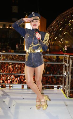 Carnaval: Tudo sobre as maquiagens de Claudia Leitte